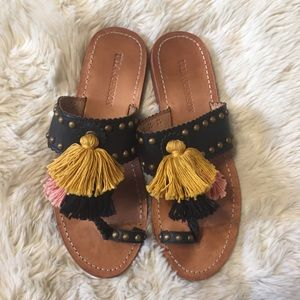 Ulla Johnson tassel sandals 39